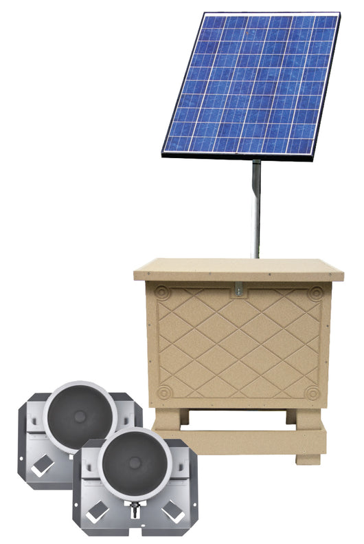 Solar Aeration Kit with Battery Backup, 2 Diffuser
