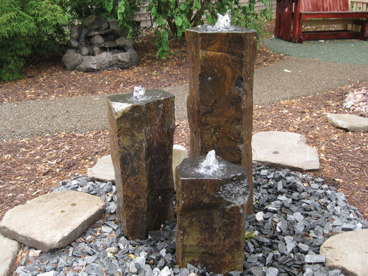 Tall Polished Top Basalt Kit