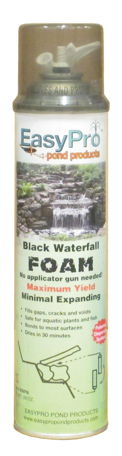 Black Waterfall Foam, 20 oz.