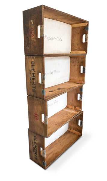 Reproduction Crate Stack Bookshelf