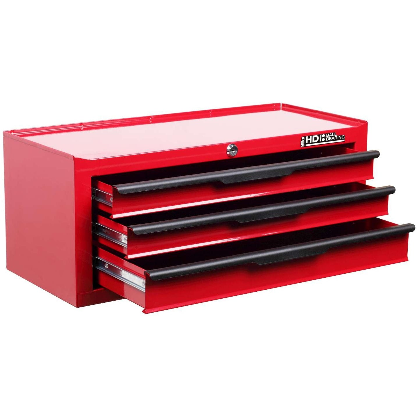 Hilka G301C3BBS HD Middle Chest Tool Box 3 Drawers Red - Elite ...