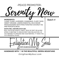 SERENITY NOW Essential Oil Blend Roller