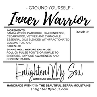 INNER WARRIOR Essential Oil Blend Roller