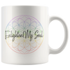 Image of Enlighten My Soul Logo - White Mug