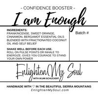 I AM ENOUGH Essential Oil Blend Roller