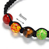 Image of 7 Chakra Balance Healing Adjustable Rope Bracelet