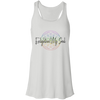 Image of Enlighten My Soul Logo Flowy Racerback Tank - White
