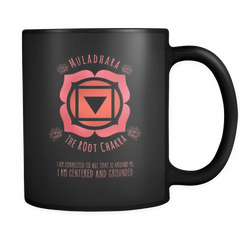 The Root Chakra Affirmation Mug