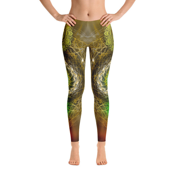 Spiritual Guidance Yoga Leggings