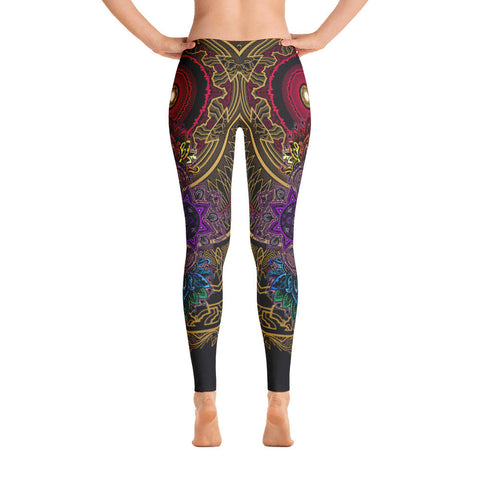 Golden Mantra Yoga Leggings