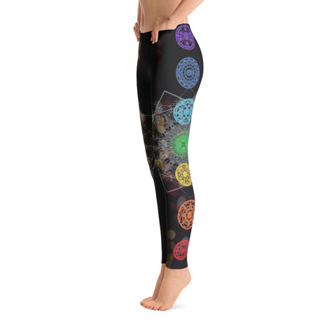 Chakras Aligned Yoga Leggings