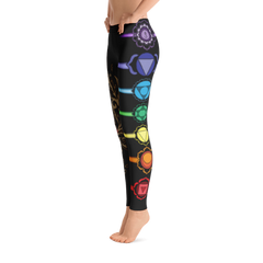 Chakra Meditation Yoga Leggings