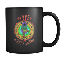 Love is my religion Mug