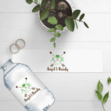 Water Bottle Labels - Rustic Arrows