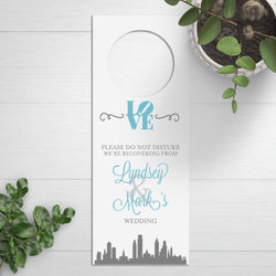 Wedding Door Hangers