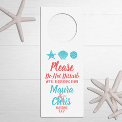 wedding do not disturb sign
