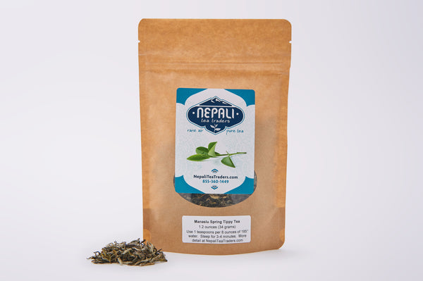 Nepali Tea Traders Manaslu Spring Tippy Black