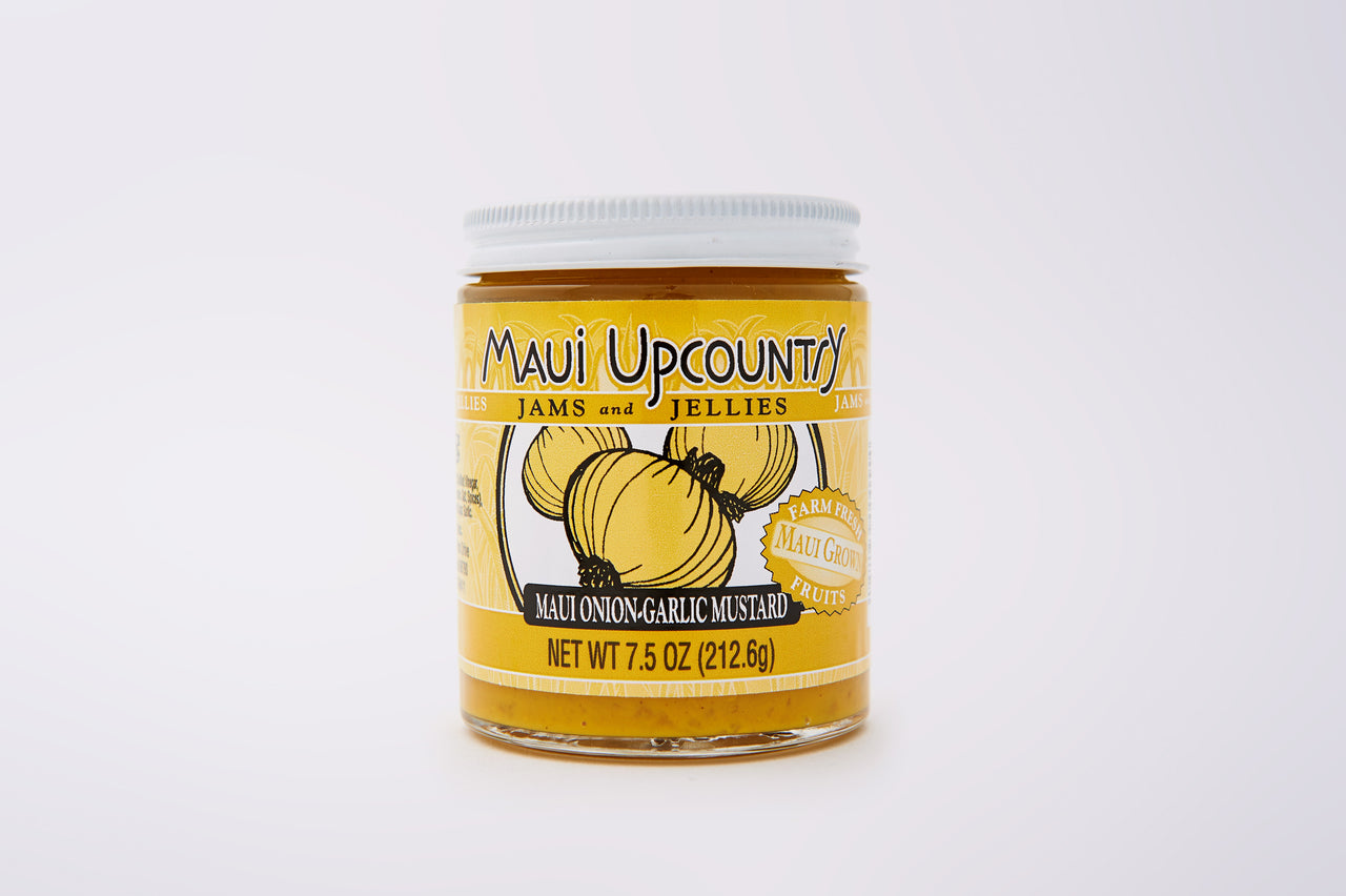 Maui Upcountry Maui Onion Garlic Mustard
