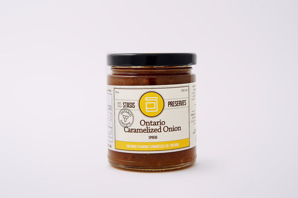 Stasis Preserves Ontario Caramelized Onion Spread
