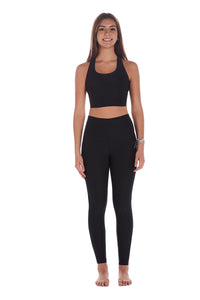 High Compression Recycled Legging - Black