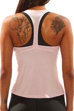 Load image into Gallery viewer, Pink Racerback Tank