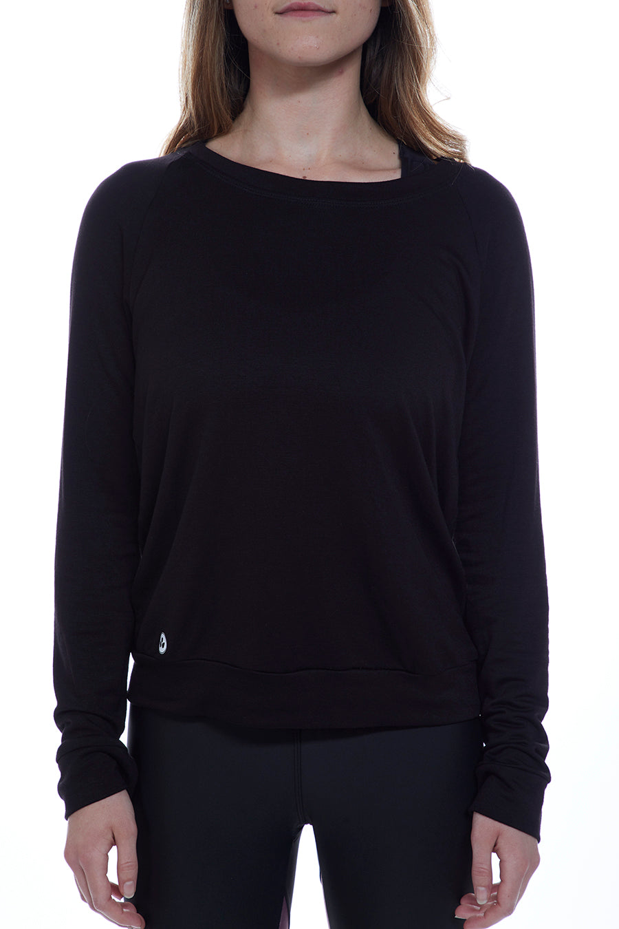 Black Chic Sweatshirt