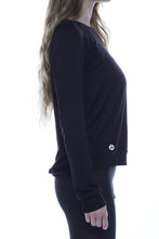 Load image into Gallery viewer, Black Chic Sweatshirt