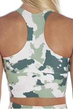 Load image into Gallery viewer, Camo Bra Crop