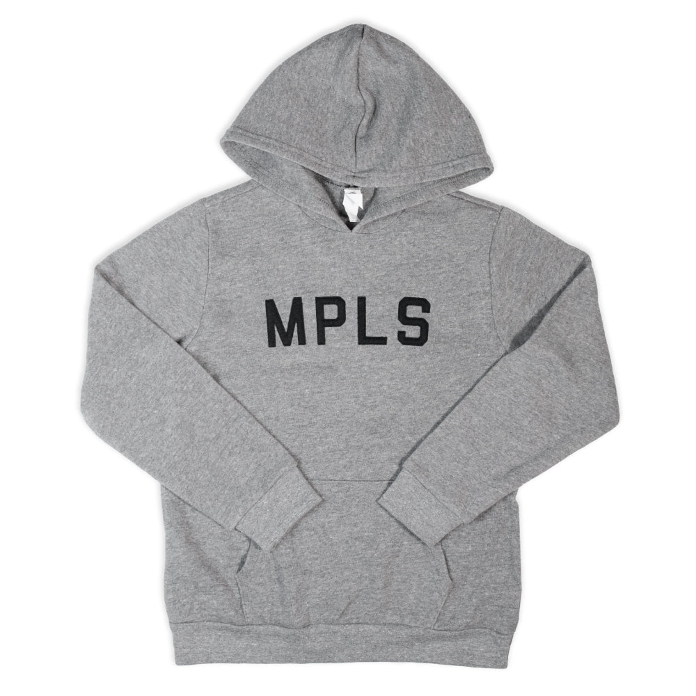 MPLS Kids Hooded Sweatshirt - Grey - Northmade Co