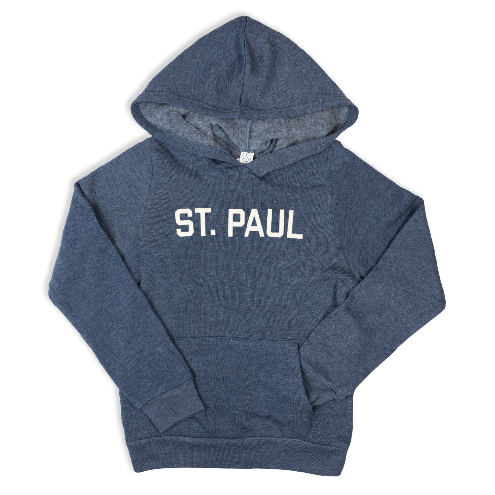 St. Paul Kids Hooded Sweatshirt - Navy - Northmade Co