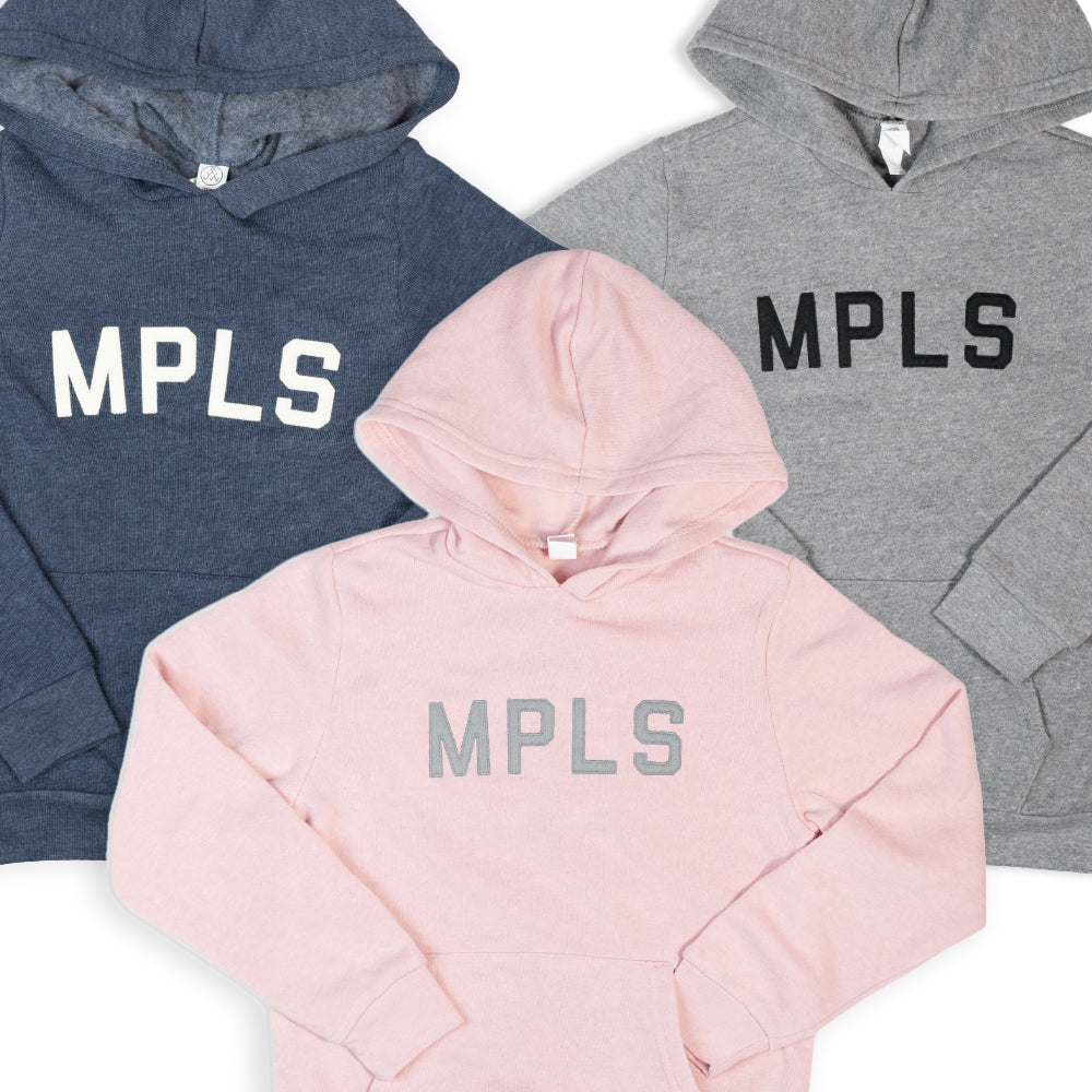 MPLS Kids Hooded Sweatshirt - Navy - Northmade Co