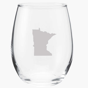 Minnesota Wine Glass - Northmade Co