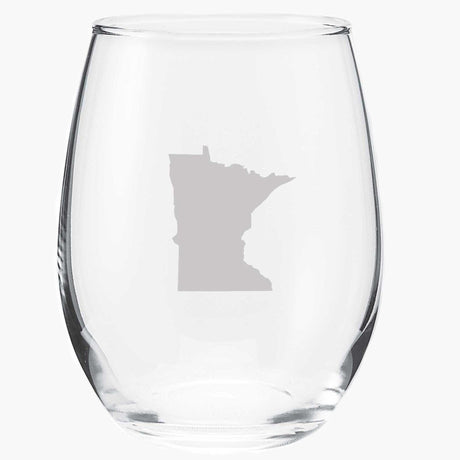 Minnesota Wine Glass MSP Clothing