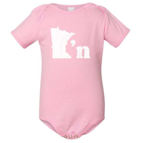 Minnesotan Onesie (Four Colors) - Northmade Co