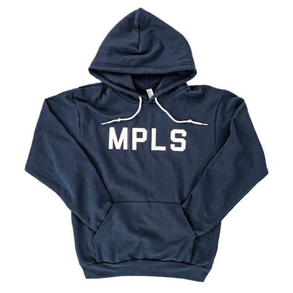 MPLS Hooded Sweatshirt- Navy - Northmade Co