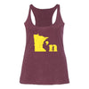 Minnesotan - Women's Racerback Tank - Northmade Co