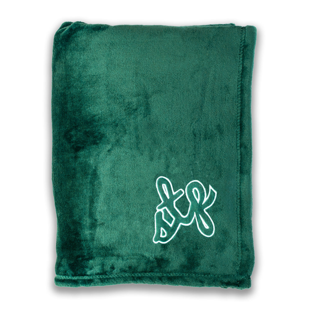 STP Script Fleece Blanket - Northmade Co