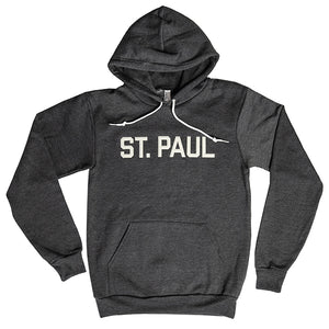 St. Paul Hooded Sweatshirt- Dark Heather Grey - Northmade Co