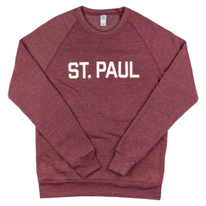 St. Paul Sweatshirt - Maroon - Northmade Co