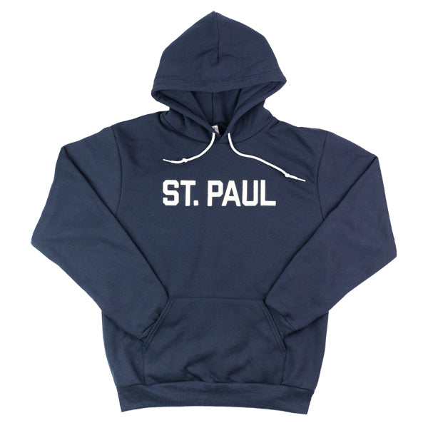 St. Paul Hooded Sweatshirt- Navy - Northmade Co