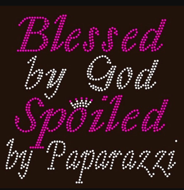 Blessed by Paparazzi Tee