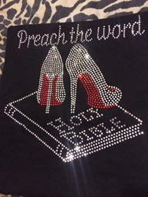Preach the Word Bling Tee