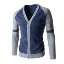 Fashion Gradigans Patchwork Mens Sweaters