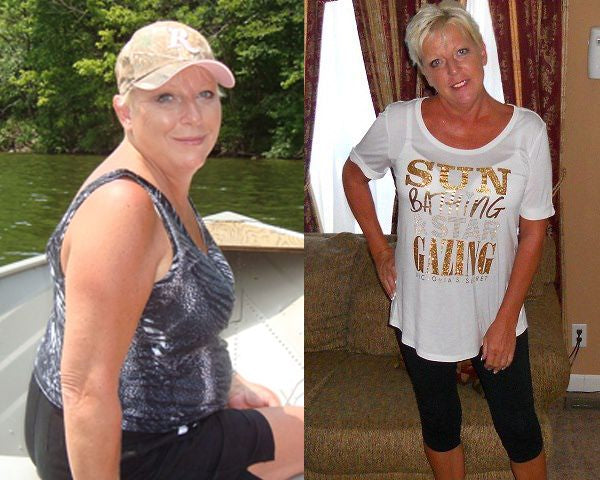Letitia Hovanec's weight loss