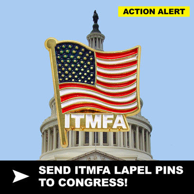 FLOOD CONGRESS WITH ITMFA PINS!