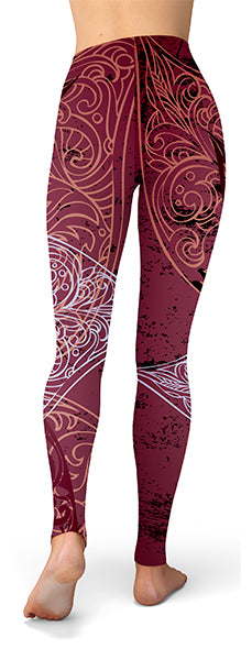 df4fa81b9b9c80 ... Tree Of Life Yoga Leggings For Women