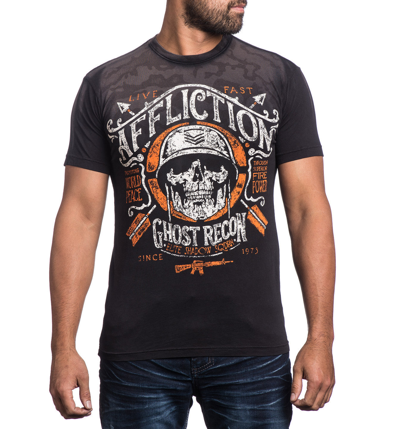 Affliction Mess Hall - Graphic T-shirt