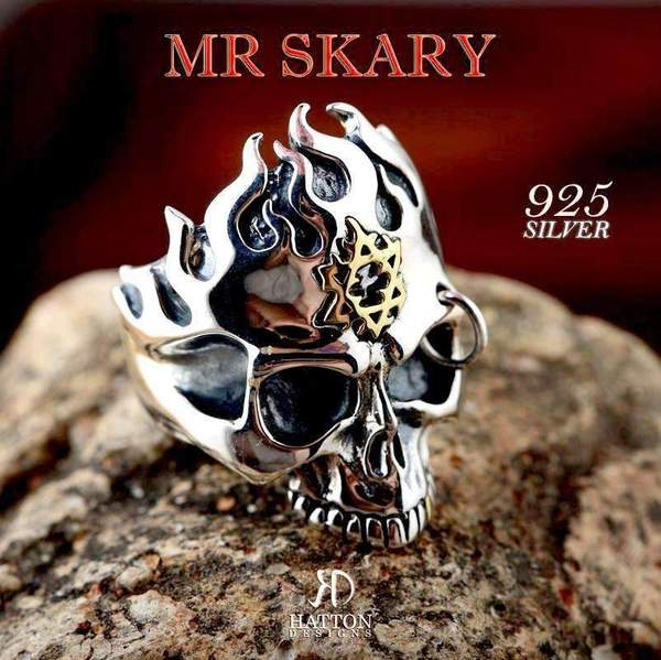 HATTON DESIGNS MR SKARY Sterling Silver Ring