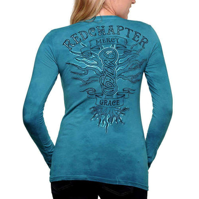 Red Chapter Womens 'Grace / Mercy' Long Sleeve