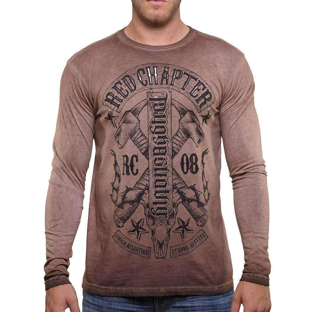 Red Chapter Mens ToughAsLeather/StrongAsSteel - L/S